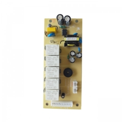 Touch oven control board