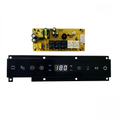 Built-in oven electronic board